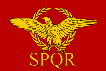 Ancient Roman Republic Flag Extracted From Heaven S Fall The Roman Revolution Imperio Romano Arte E Cultura Roma Antiga