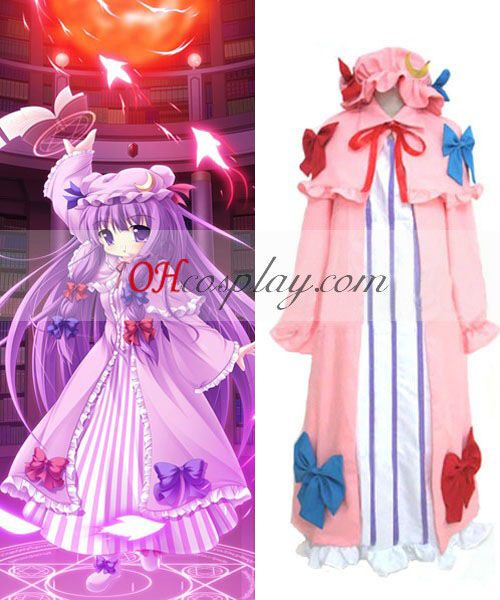 Anime · Touhou Project Patchouli Knowledge cosplay costume