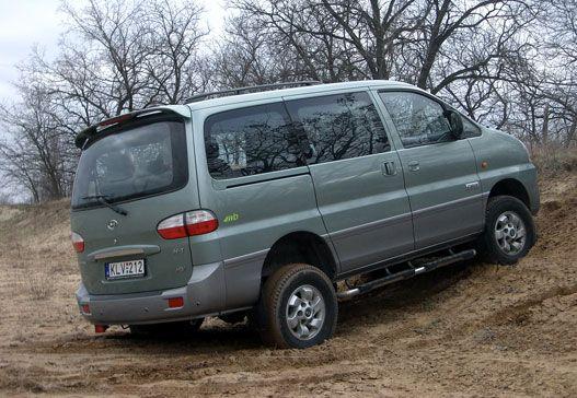Totalcar - Tesztek - Teszt: Hyundai H1 Starex - 2007