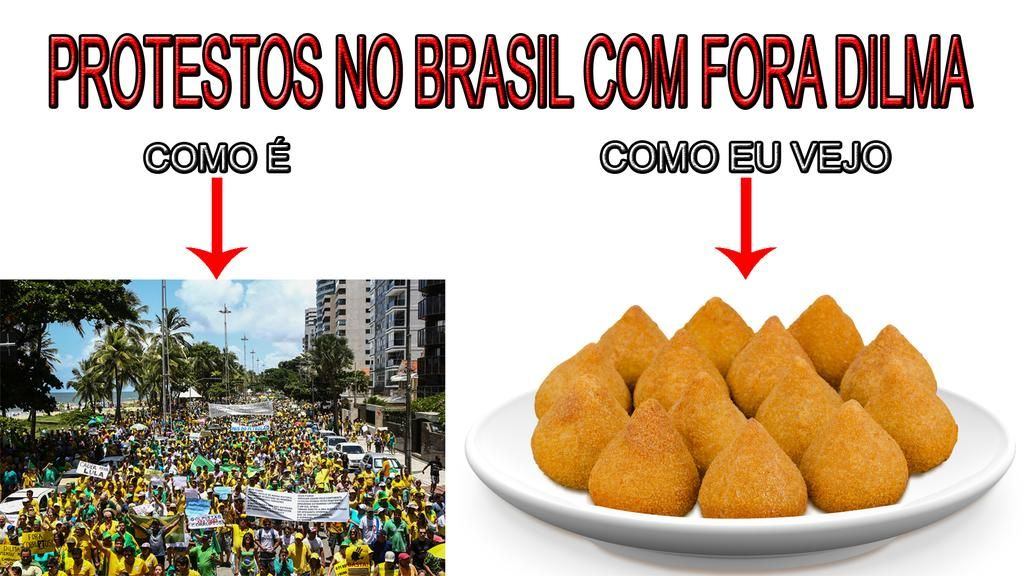 #AceitaDILMAVez!  #DilmaFica #DilmaFicaEVeta #protestos de #coxinhas  Participe! agora!