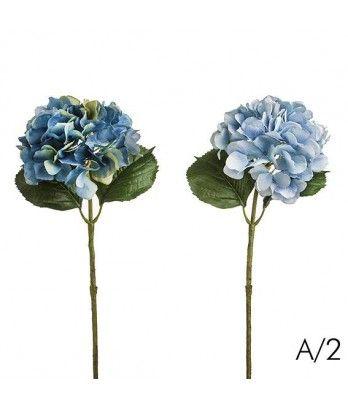 Sia home fashion blue hydrangea stem silk artificial flowers sia home fashion blue hydrangea stem silk artificial flowers mightylinksfo Images