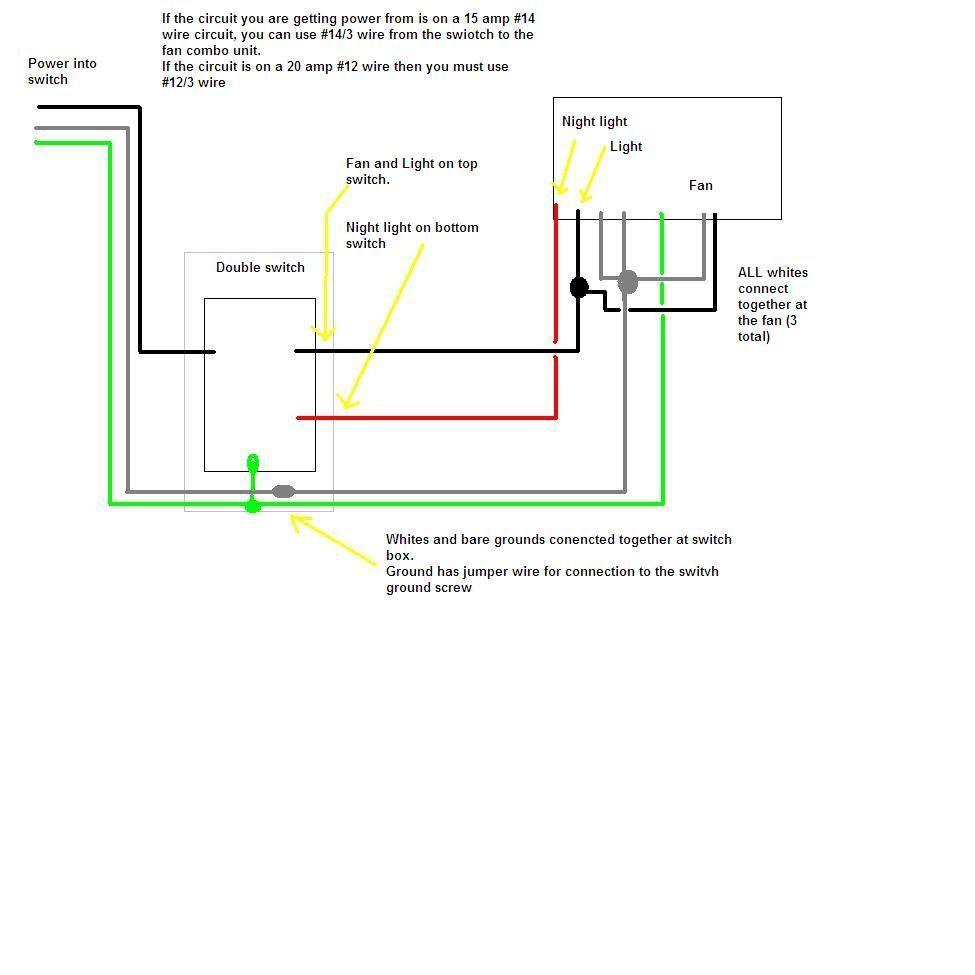 Bath Fan Wiring Diagrams Scotts L2548 Wiring Diagram