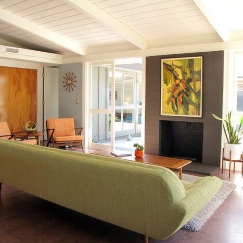 Houzz Mid Century Modern.My Houzz A Midcentury Marvel Revived In Long Beach Family