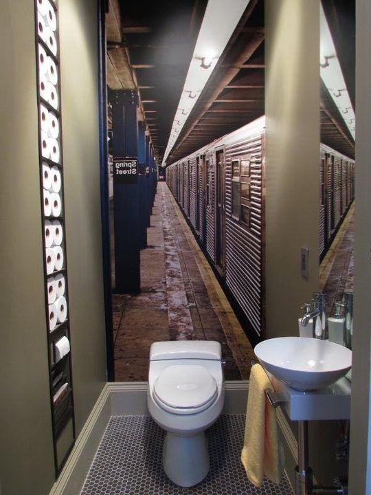 San francisco powder bathroom design eclectic with stone - Bathroom showrooms san francisco ...