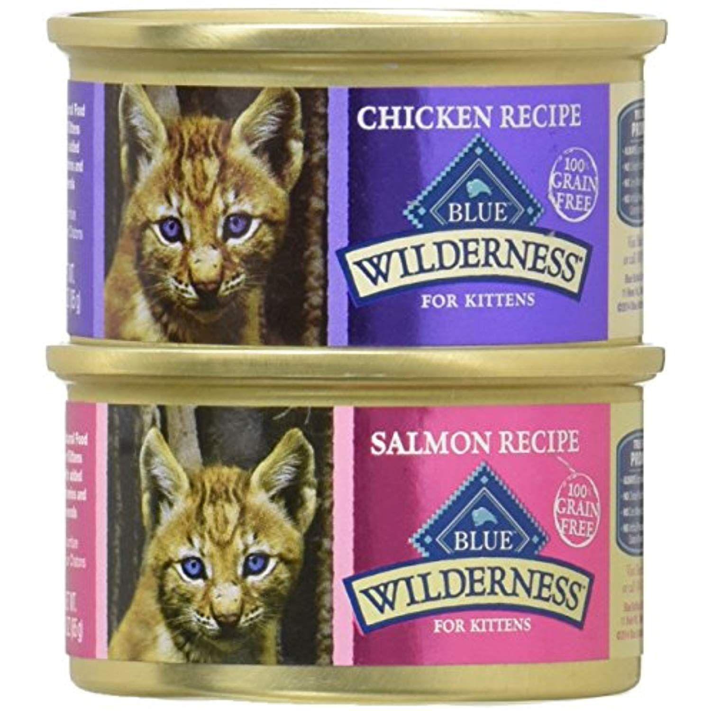 Blue Wilderness Kitten Grain Free Chicken And Salmon Variety Pack Wet Cat Food 3 Oz 6pack 1case Check This Awesome Pr Wet Cat Food Cat Food Free Chickens