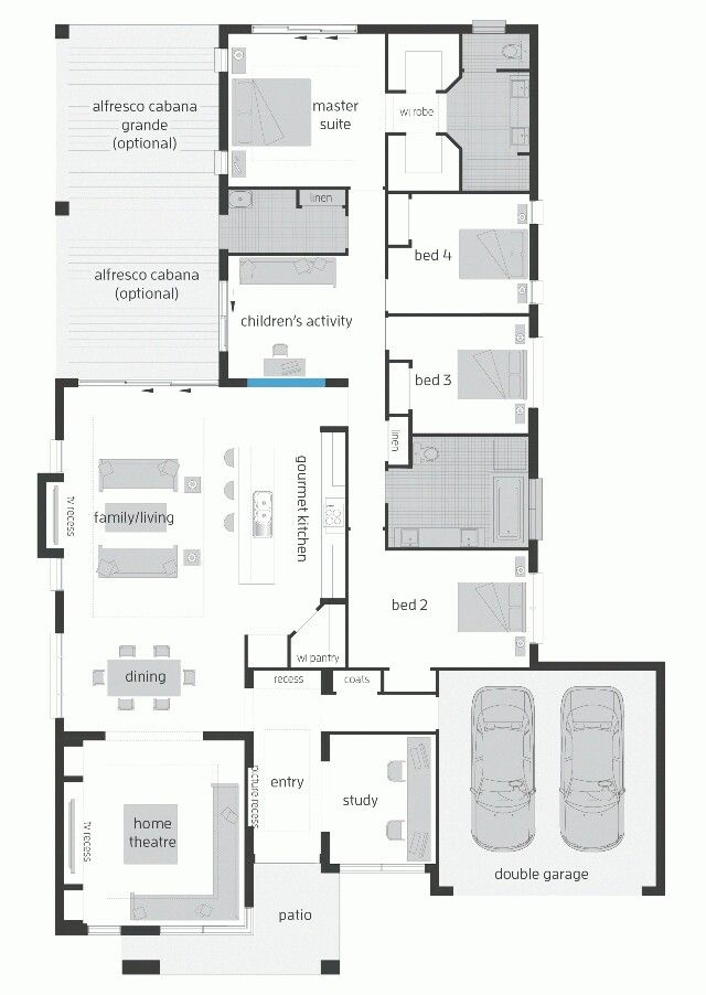 Superbe McDonald Jones Homes Monte Carlo With Rear Activities  Http://mcdonaldjoneshomes.com.