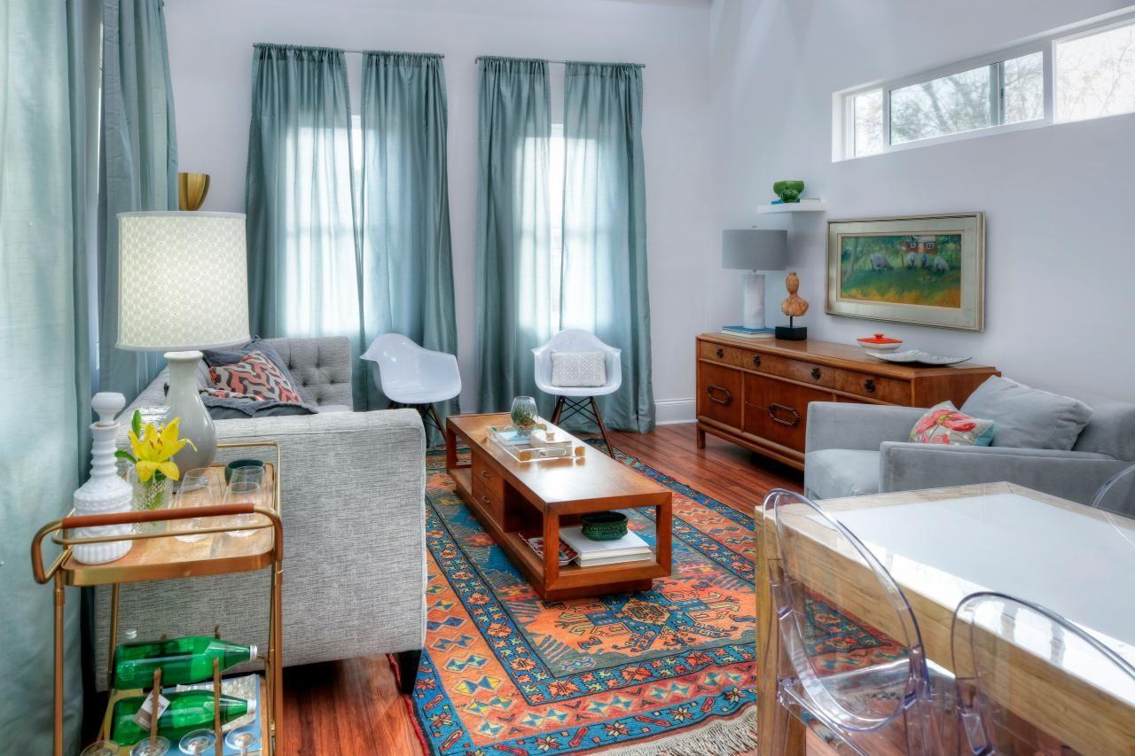 Mina and Karen's Magical Cottage on the Hill | HGTV's Decorating & Design  Blog | HGTV | Little white house, Home living room, Hgtv house