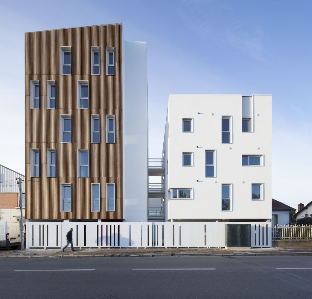 Gallery of 16 Social Housing Units / Atelier Gemaile Rechak - 1