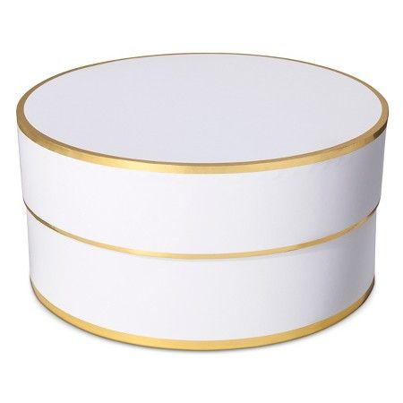 Sugar Paper White Round Gift Box Target Great Ideas For Office