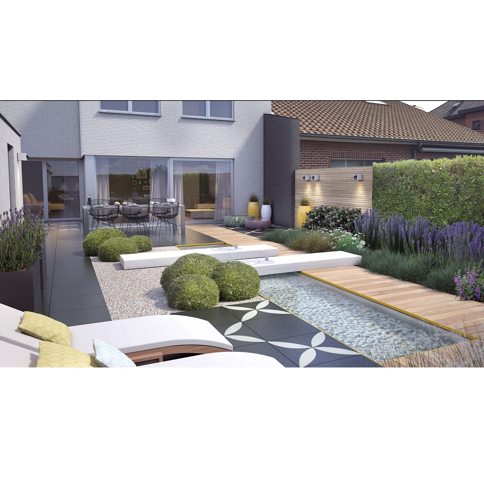 Modern garden house  Fantastic  Outdoor  Pinterest  Gardens Modern garden design and