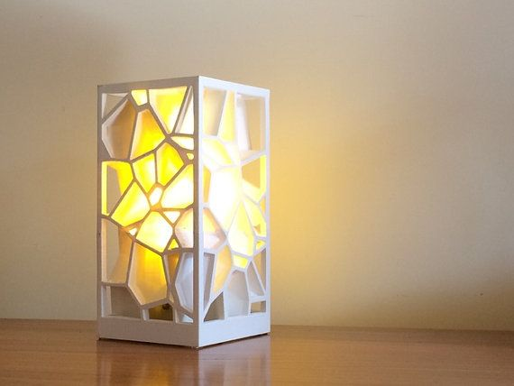 Hello Buyer Congratulations It Appears You Have Found Our Shop Take A Look Around You Are Purchasing A 3d Printed Voronoi Lampsha Lamp Usb Lamp Paper Lamp