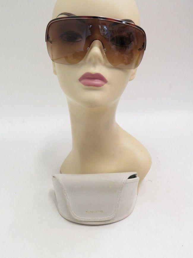 Tom Ford Tf138 Gianna Tortoise Shell Half Rim Shield Sunglasses 33f Sunglasses Accessories Sunglasses Shield Sunglasses Tortoise Shell Sunglasses
