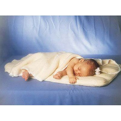 organic mattress pad w/removable coverlet for cosleeper
