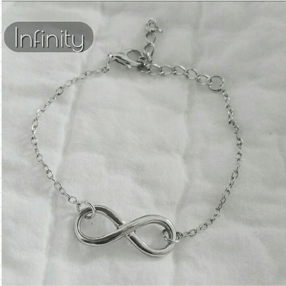 Infinity Bracelet Silver tone. Brand new. Jewelry Bracelets