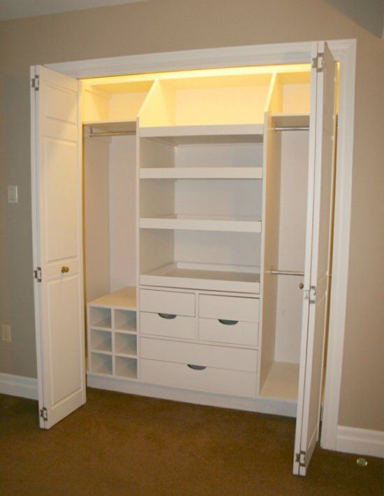 Kids closet getting rid of those space consuming chest of Short wardrobe with drawers