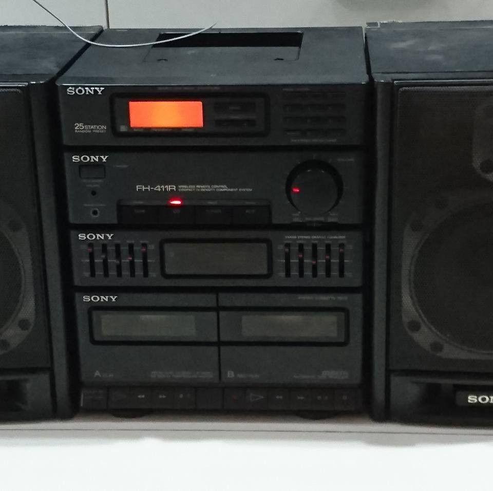 Sony Fh 411r Aparelho De Som Radio Antigo Radios