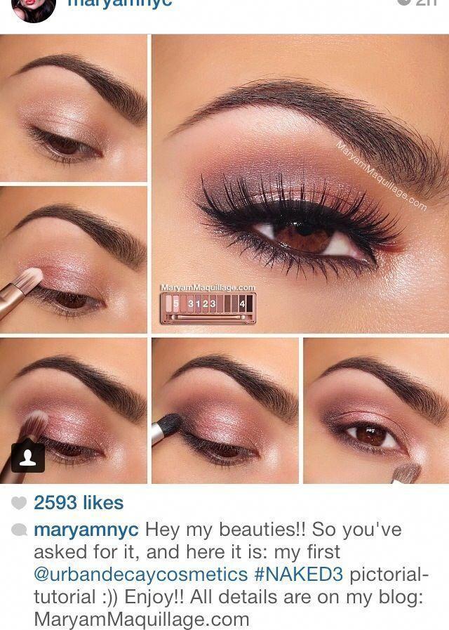 Eye makeup that looks fabulous! blueeyemakeup No