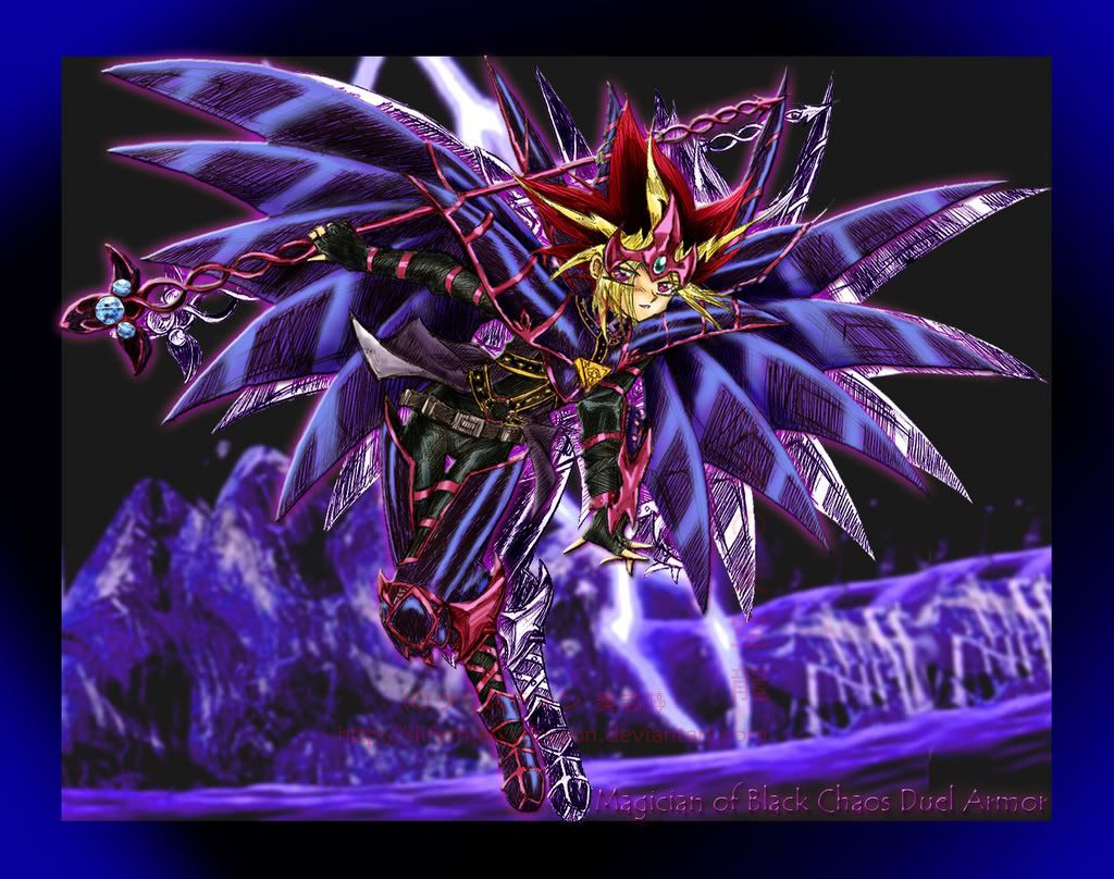 Dark Magician armor. Anime backgrounds wallpapers