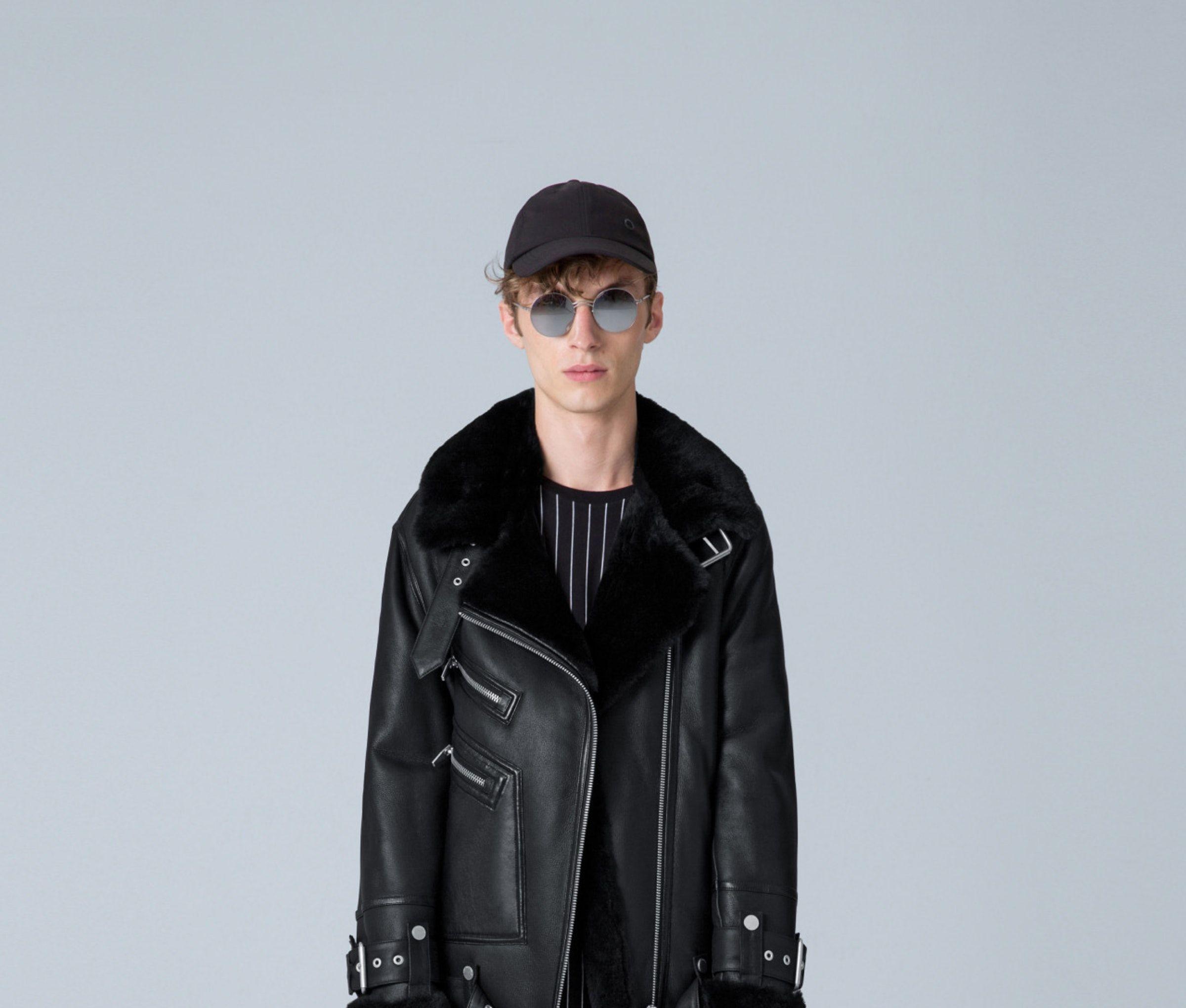 Moya Iii The Arrivals Leather Jacket Shearling Jacket Jackets [ 2040 x 2400 Pixel ]