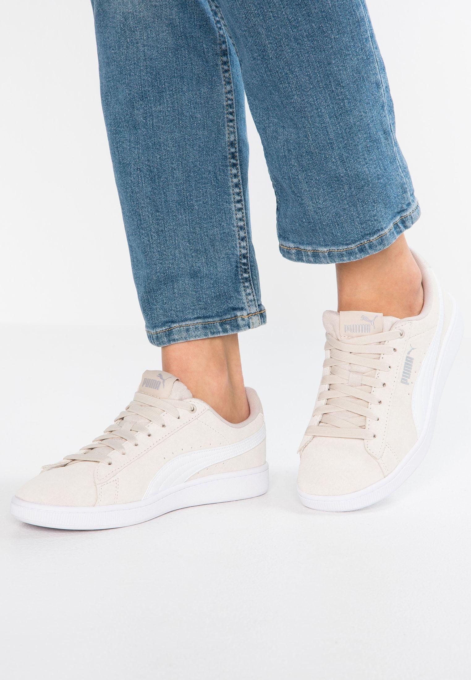 Puma VIKKY - Sneakers laag - silver gray/white/silver ...