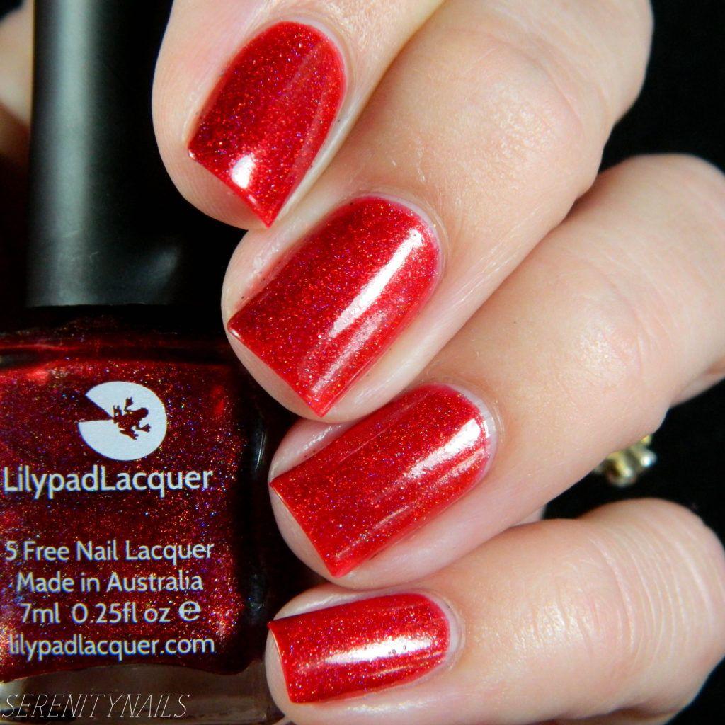 Lilypad Lacquer- Red Corvette   Nails! Nails! Nails!   Pinterest ...