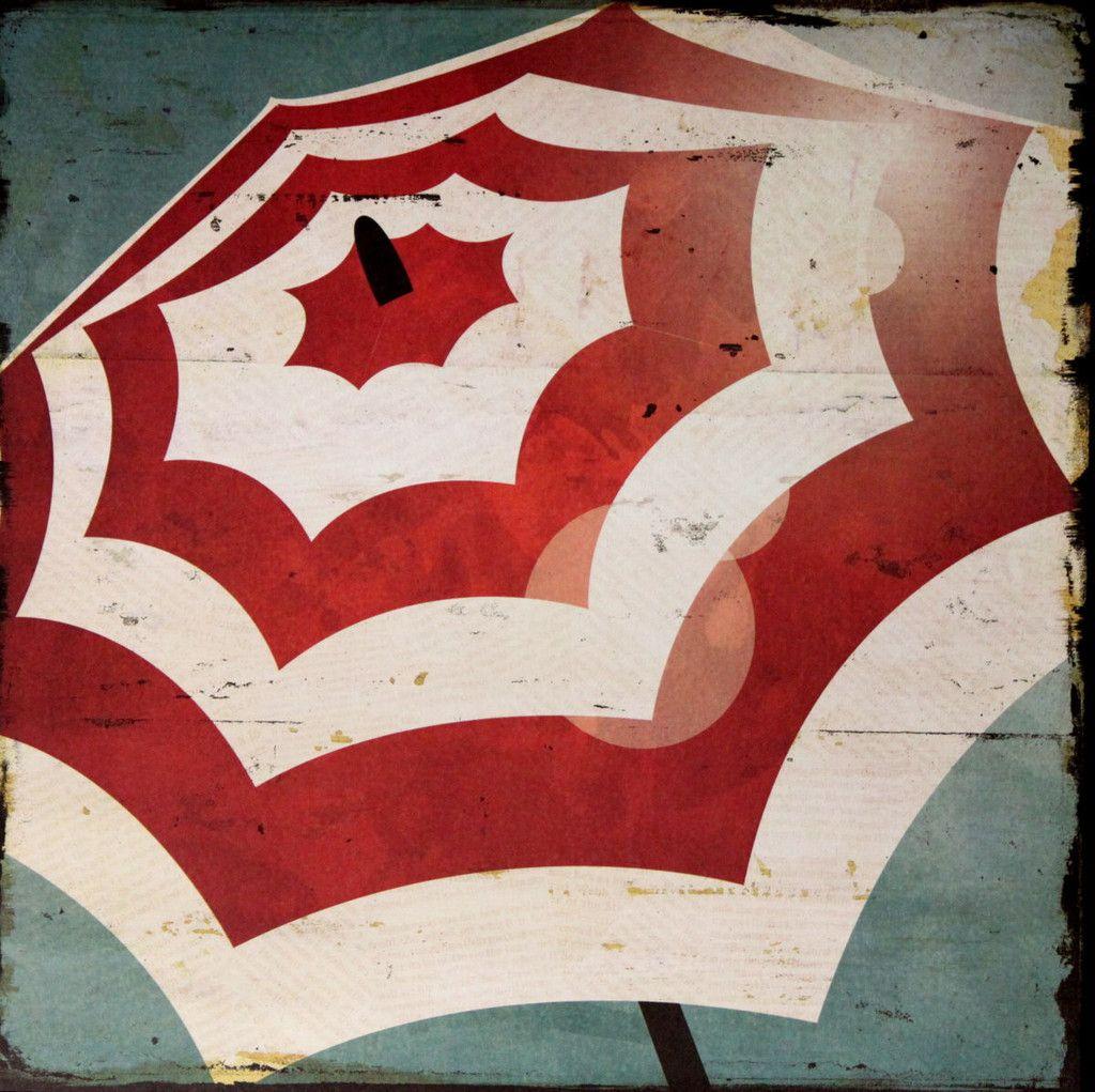 Scrapbook paper beach - Colorbok Boardwalk Beach Umbrella 12 X 12 Flat Scrapbook Paper
