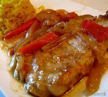 Make Chuletas De Cerdo En Salsa Spanish Pork Chops Recipe Pork Recipes White Wine Sauce Recipes Spanish Pork Chops
