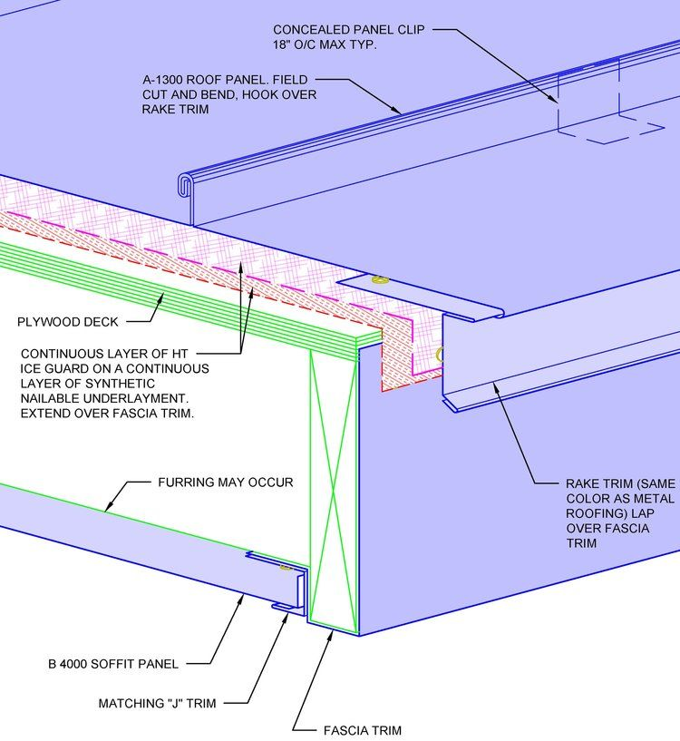 Metal Roofing Detail Book Sam A 1300 Page 21 Jpg Roofing Roof Repair Roof Architecture