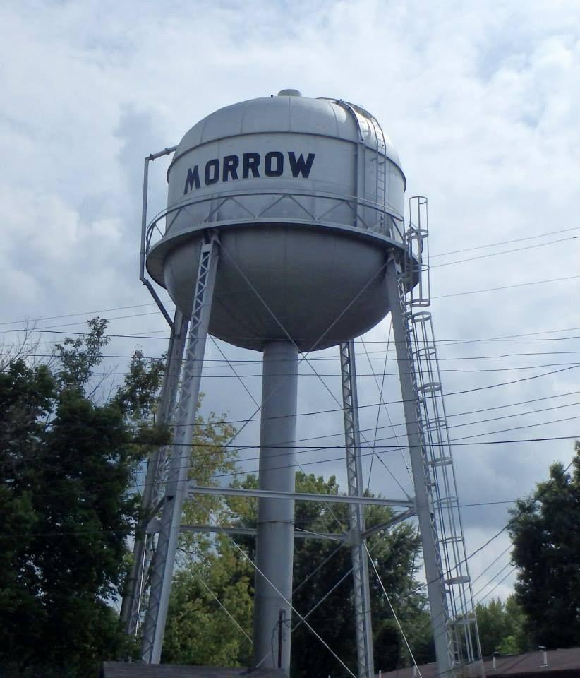 Located in Morrow, Ohio. Photo by Kathryn E Kuhn Víztorony