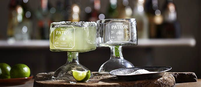 Cool Ideas For Empty Liquor Bottles Recycle To Win Patron Offers