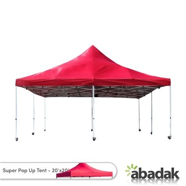 Super Pop Up Tent 20x20 Square If You Need A Very Large Tent For Your Outdoor Events Get The Strongest And Largest Tent Available Pop Up Tent Large Tent Tent