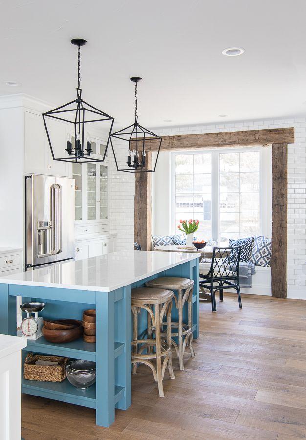 breakfast nook navy chairs kitchen decor kitchen design breakfast nook on farmhouse kitchen navy island id=13062