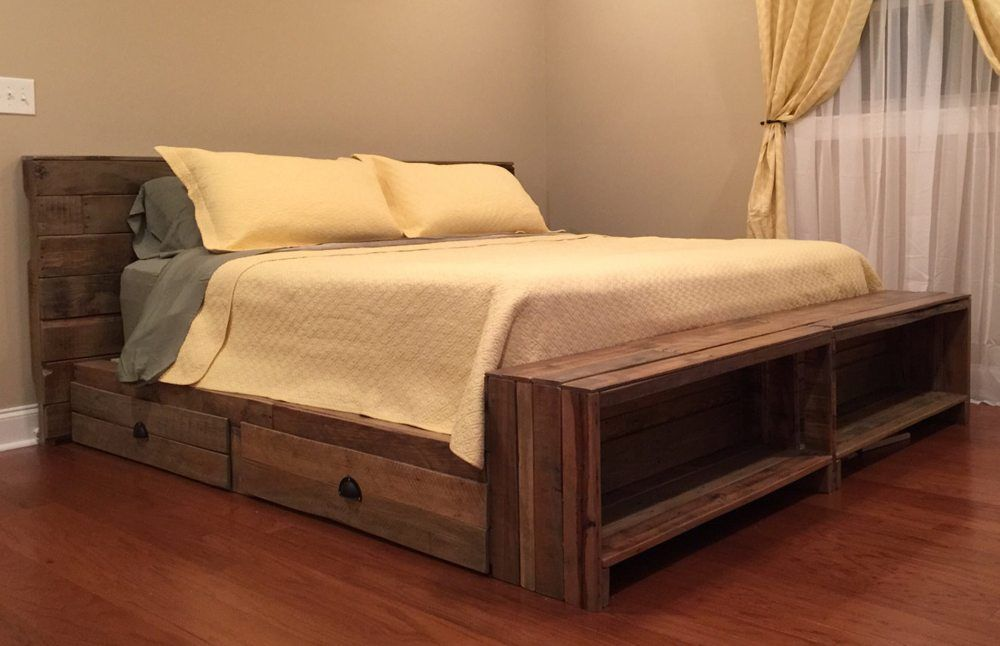 Superb King Size Captains Bed The Best Wood Furniture Wood Bed
