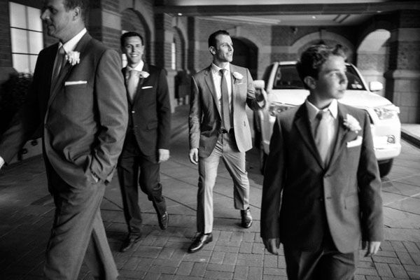 Thanks to Samuel Lippke Studios for this great photo of the guys at this Aspen wedding.