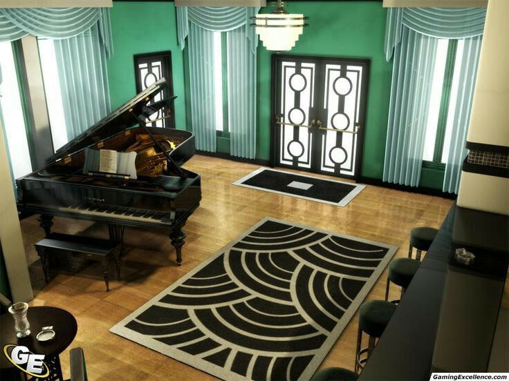 Art Deco Themed Room Art Deco Interior Deco Decor Art Deco Furniture