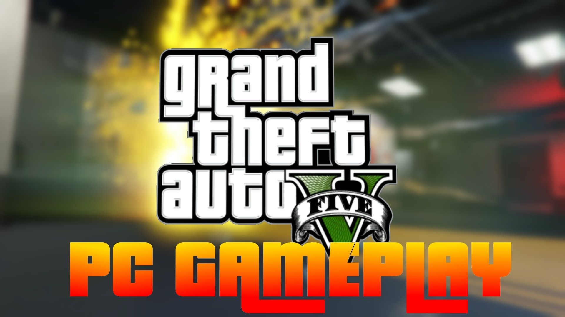 Grand Theft Auto 5 PC Gameplay ( First Mission, Car
