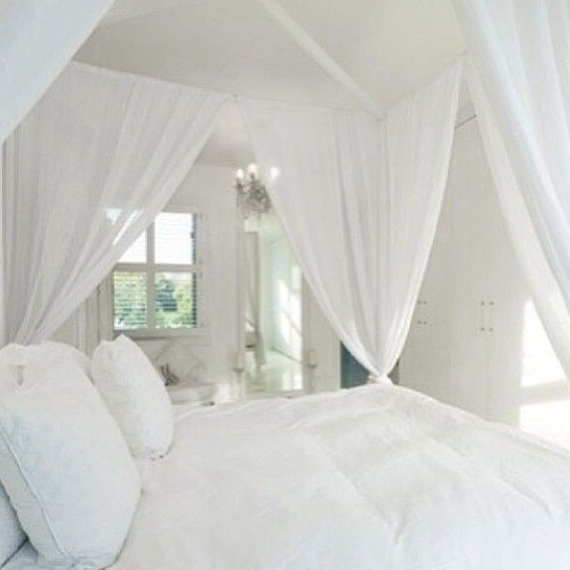 bedroom all white