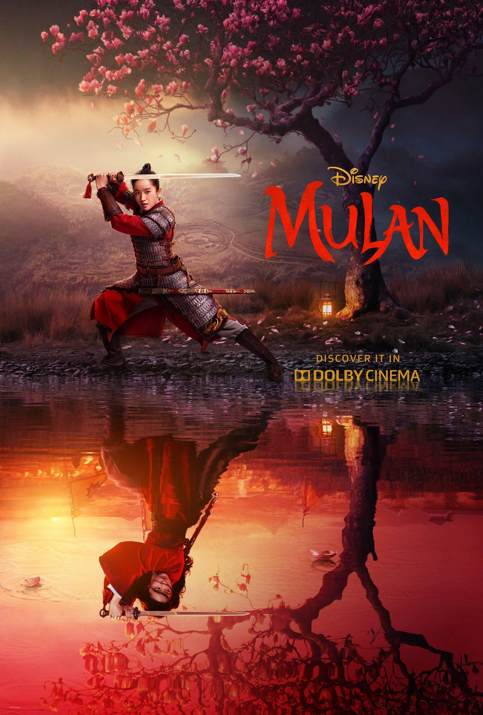 Mulan On Twitter Disney Live Disney Filmplakate Mulan