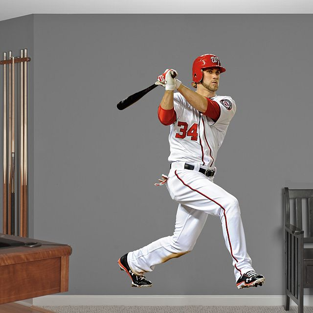 Fathead MLB Wall Decals Cut Outs And Murals Bring Home The Excitement Of Ballpark These Baseball Graphics Are A Great Gift For Fans All Ages