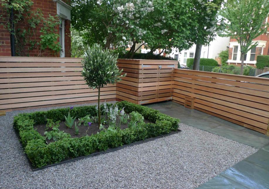 Garden design for front garden uniting the contemporary ...