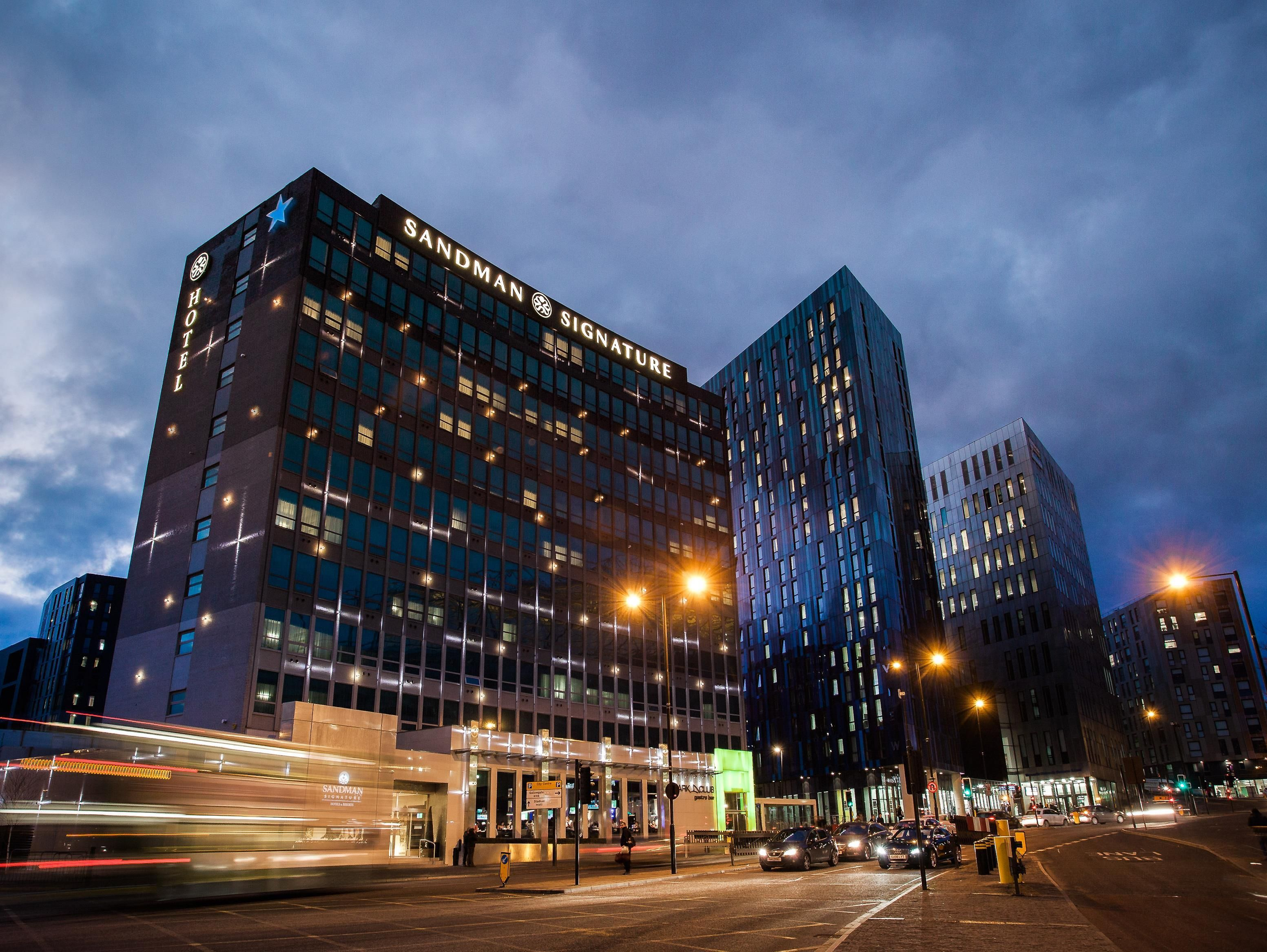 Explora Centros De Apud Física Y Mucho Más Newcastle Upon Tyne Sandman Signature Hotel