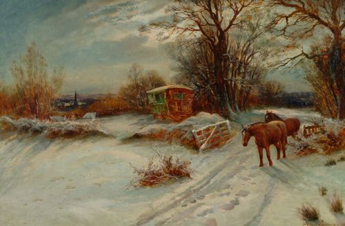 snow paintings by famous artists - Google Search | Art ...