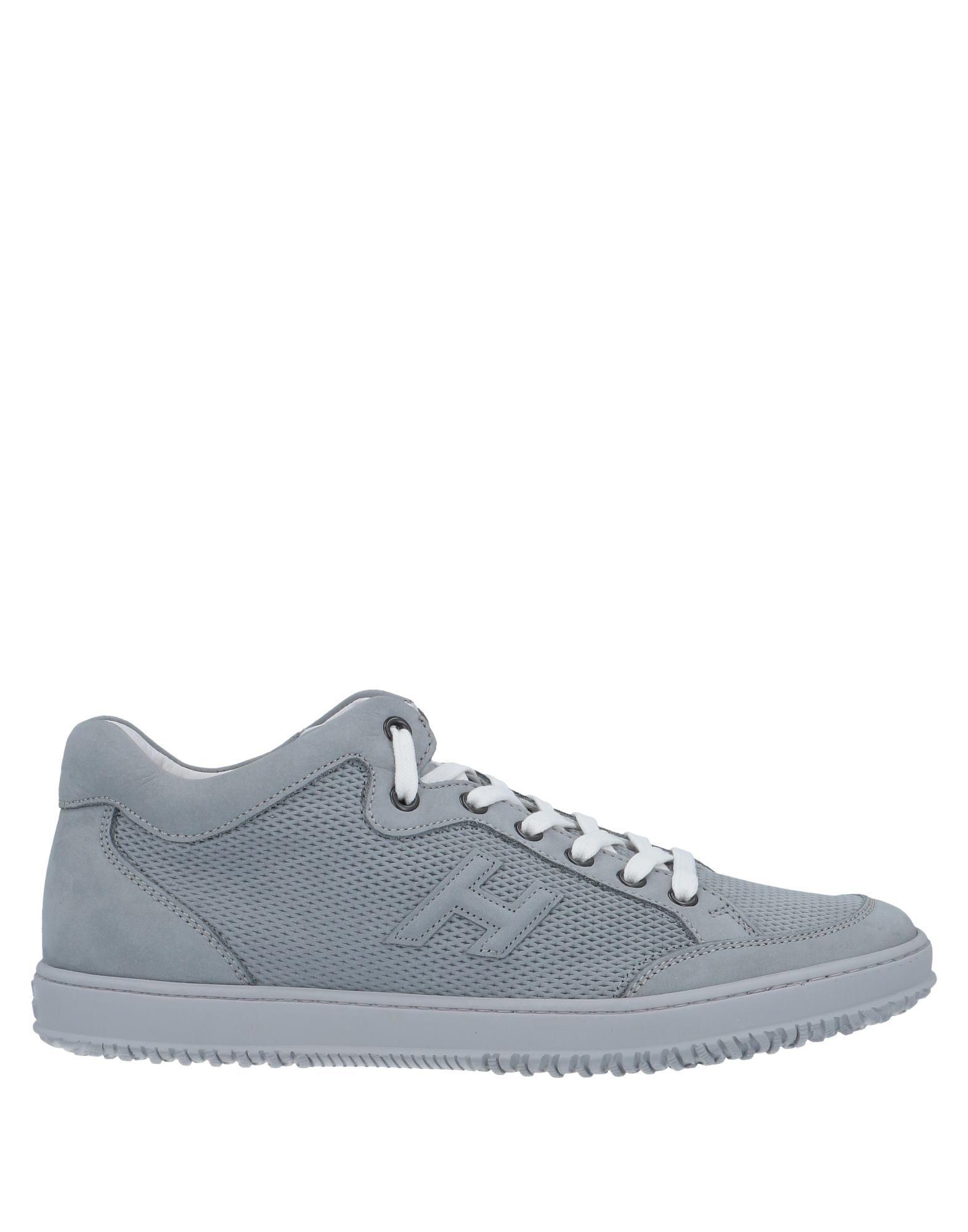 Hogan Uomo Sneakers & Tennis shoes basse Grigio Taglia 39.5 Pelle ...