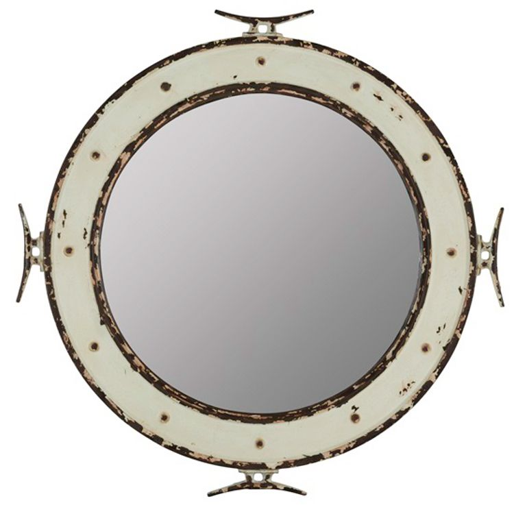 This Nautical Round Mirror Will Enhance Any Room S D 233 Cor