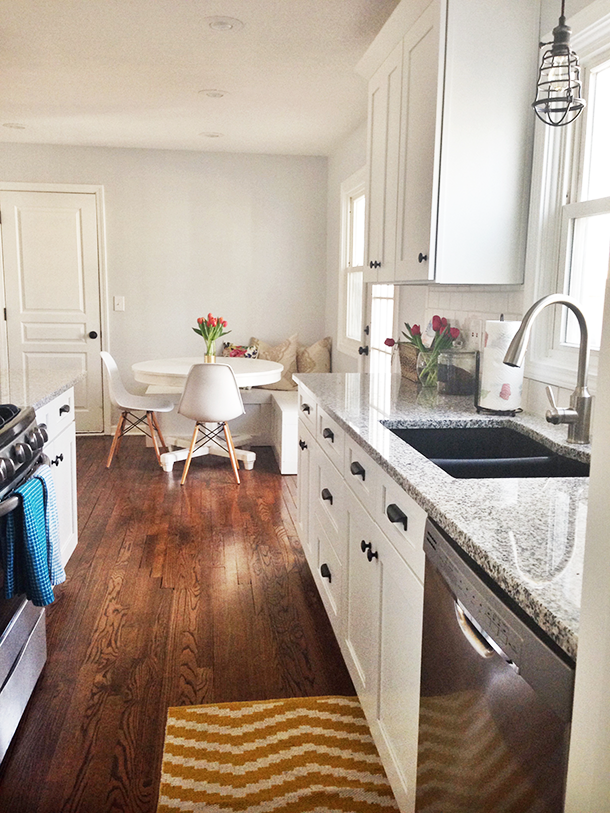 I could handle wood flooring in the kitchen. Always ...