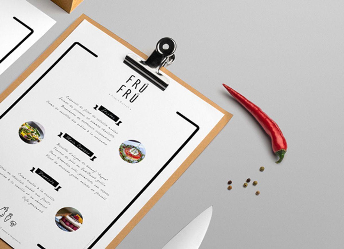 25 Super Creative Restaurant Menu Designs