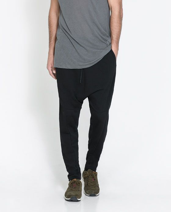 b306462c I could get very into these pants as an alternative to jeans. Image 1 of HAREM  PANTS from Zara