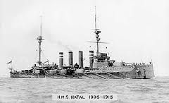 hms natal december 1915 - Google Search