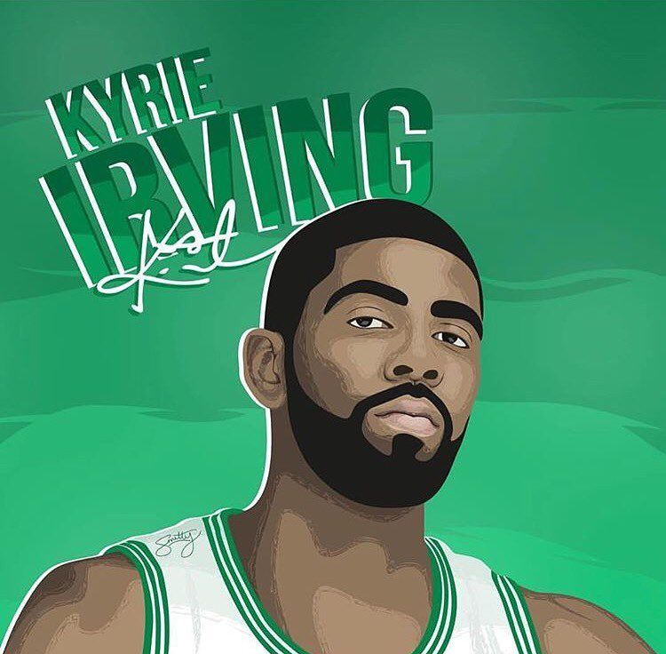 1 153 Likes 8 Comments Kyrie Irving Kyriewallpaper On
