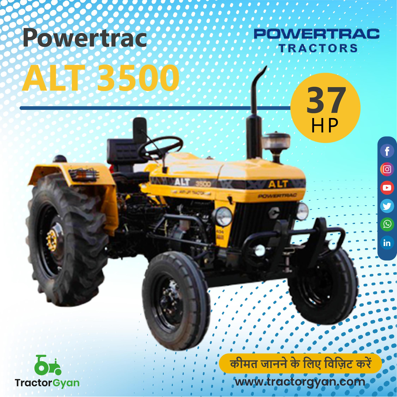 Powertrac Alt 3500 Tractor Price Tractors Old Tractor